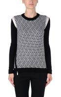Barbara Bui Long Sleeve Sweater - Lyst