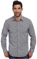 Perry Ellis Long Sleeve Mini Geometric Print Shirt - Lyst