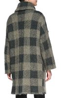 Rag & Bone Cammie Check Sweater Coat - Lyst
