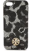 Tory Burch Kerrington Hardshell Iphone 5  5s Case - Ferrara Lace Combo Black - Lyst
