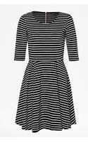 French connection Suki Winter Stripe Dress - Lyst