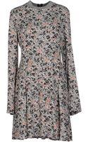 Cacharel Short Dress - Lyst