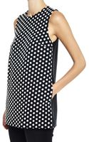 Lisa Perry Polka Dot Baby Top - Lyst