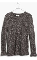 Madewell Fire Light Marled Pullover - Lyst