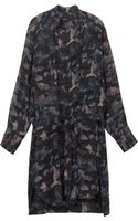 Isabel Marant Carla Printed Shirt Dress - Lyst