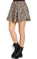 BCBGeneration Flare Skirt - Lyst