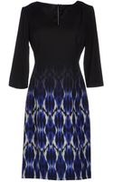 Elie Tahari Short Dress - Lyst