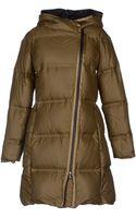 Jil Sander Navy Midlength Jacket - Lyst