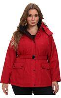 Jessica Simpson Plus Size Jofwp114 Coat - Lyst