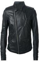 Rick Owens Leather Jacket - Lyst