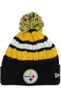 New Era Pittsburgh Steelers Cold Weather Knit Hat - Lyst