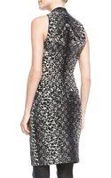 Jean Paul Gaultier Leopardprint Bustier Dress - Lyst