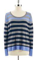 C&c California Striped Hilo Sweater - Lyst
