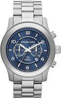 Michael Kors Watch Hunger Stop Runway Stainless Steel Watch - Lyst