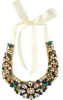 Kate Spade Pearl Mix Bib Necklace - Lyst