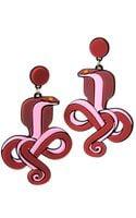 Yazbukey Tangled Cobra Earring - Lyst