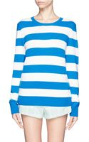 Equipment Shane Striped Cashmere Sweater - Lyst