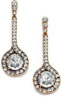 Oscar de la Renta Jeweled Pendant Drop Earrings - Lyst