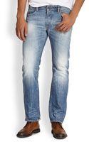 Diesel Waykee Straight-leg Jeans - Lyst