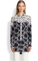 Etro Mixed-print Silk Tunic - Lyst