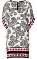 Etro Silk Print Dress - Lyst