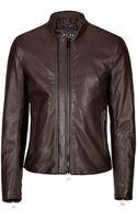 Belstaff Leather Holbrook Jacket - Lyst