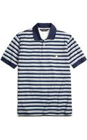 Brooks Brothers Original Fit Variegated Multistripe Polo Shirt - Lyst