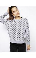 Eleven Paris Sweatshirt in Paisley Print - Lyst