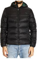 Fred Perry Down Jacket - Lyst