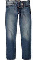River Island Mid Wash Dylan Slim Jeans - Lyst