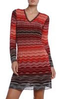 M Missoni Ripple Dress - Lyst