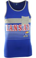 Adidas Mens Kansas Jayhawks Pocket Tank Top - Lyst
