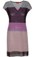 Missoni Printed Crochet Dress - Lyst
