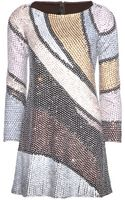 Marc Jacobs Sequin and Bead-embellished Dress - Lyst