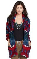 Polo Ralph Lauren Hand Knit Belted Cardigan - Lyst