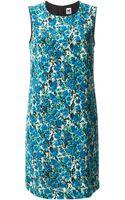 M Missoni Printed A-line Dress - Lyst
