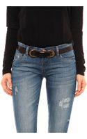 Linea Pelle Skinny Versatile Belt - Lyst