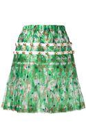 Comme Des Garçons Vintage Floral Skirt - Lyst