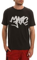Marc By Marc Jacobs Marc Tag Tee Black Tshirt - Lyst