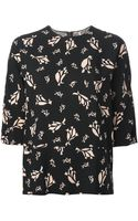 Marni Leaves Printed Top - Lyst