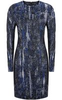 Stella McCartney Tie Dye Jacquard Dress - Lyst