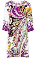 Etro Silk Print Dress - Lyst