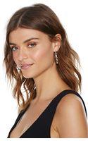 Nasty Gal Karlee Hoop Earrings - Lyst