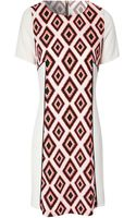 Jane Norman Diamond Tribal Print Shift Dress - Lyst