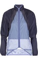 Adidas By Stella Mccartney Colorblock Shell Jacket - Lyst