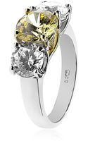Carat* Grand Yellow Trilogy Ring - Lyst
