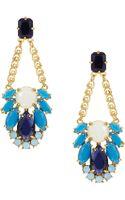 Kate Spade Steamer Glow Statement Earrings - Lyst