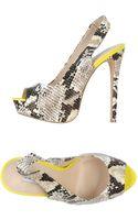 Steve Madden Platform Sandals - Lyst