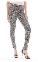 J Brand Abstract Print Skinny Pant - Lyst