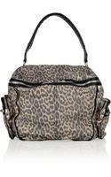 Alexander Wang Jane Leopardprint Leather Tote - Lyst